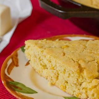 Skillet Cornbread with Creamed Corn.