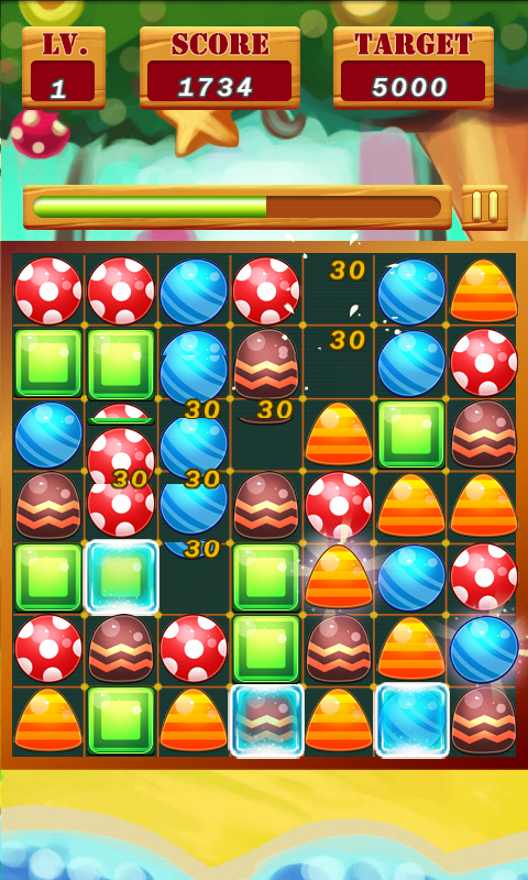 Candy Blast HD - screenshot