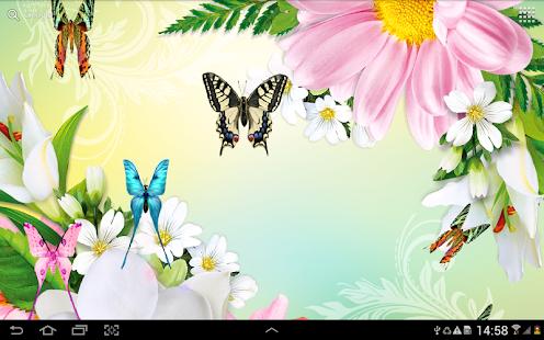 Butterflies Live Wallpaper HD Screenshot Thumbnail