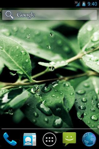 Real Rain Drops LWP