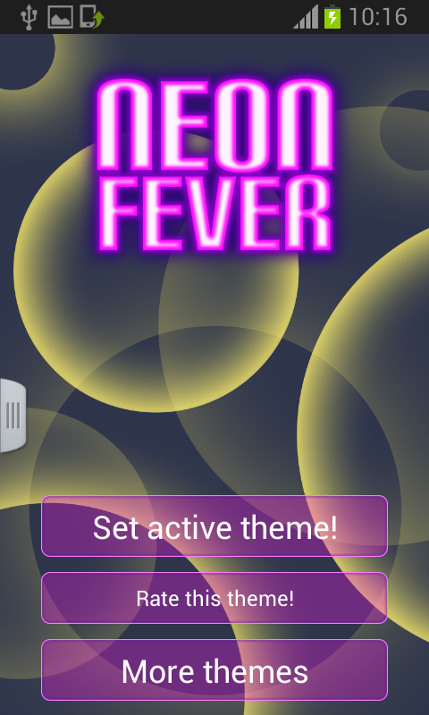 Neon Keyboard Fever - screenshot