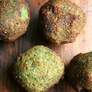 Falafel with Lima Bean Salad
