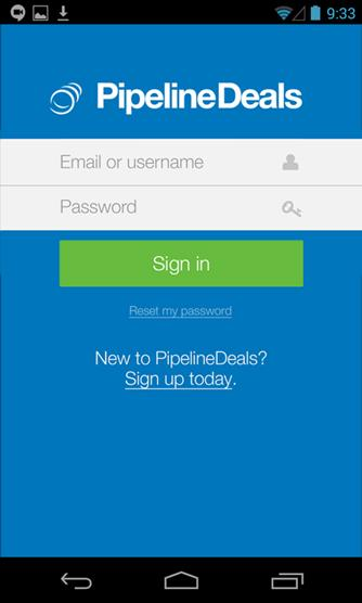 PipelineDeals CRM- screenshot