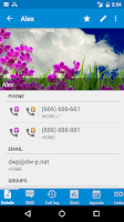 Screenshot of DW Contacts & Phone & Dialer