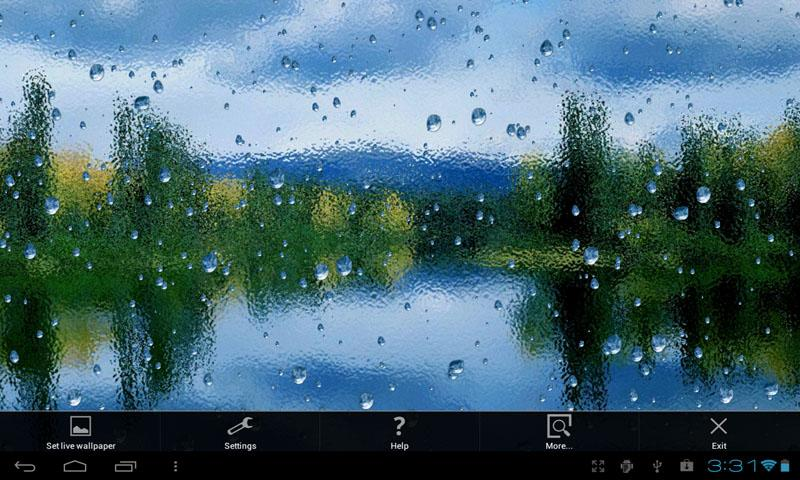 Rain On Screen- screenshot
