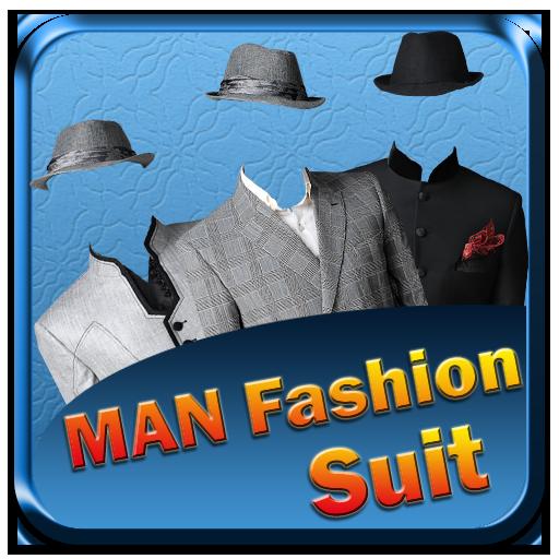 Indian Man Suit -Photo Montage LOGO-APP點子