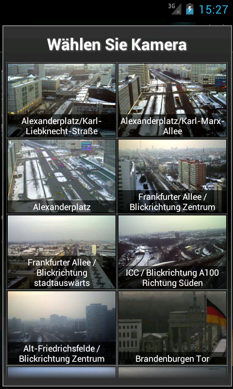 Cameras Deutschland - screenshot