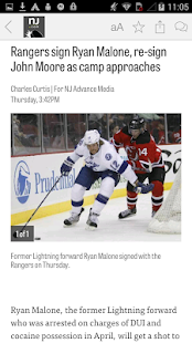 NJ.com: New York Rangers News - náhled