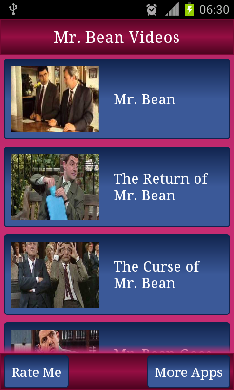 Mr Bean Videos - screenshot