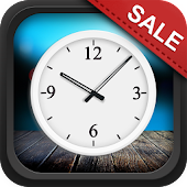 Soft Analog Clock Widget