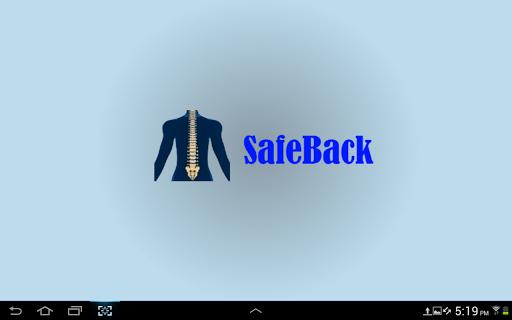 SafeBack [tablet only]