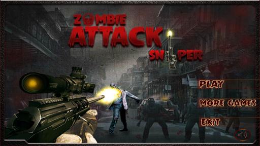 Zombie Attack Sniper