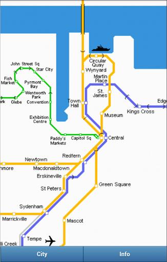 Subway Maps Australia
