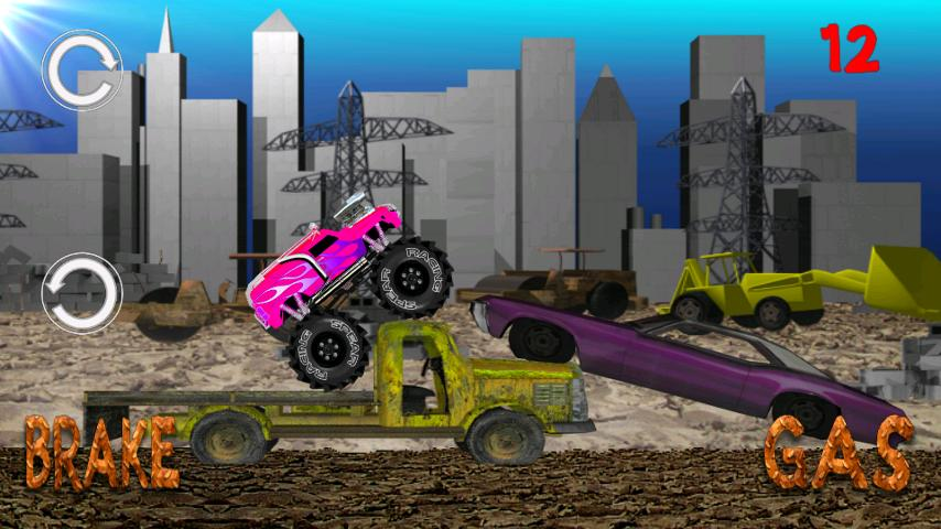 Monster Truck Junkyard - screenshot