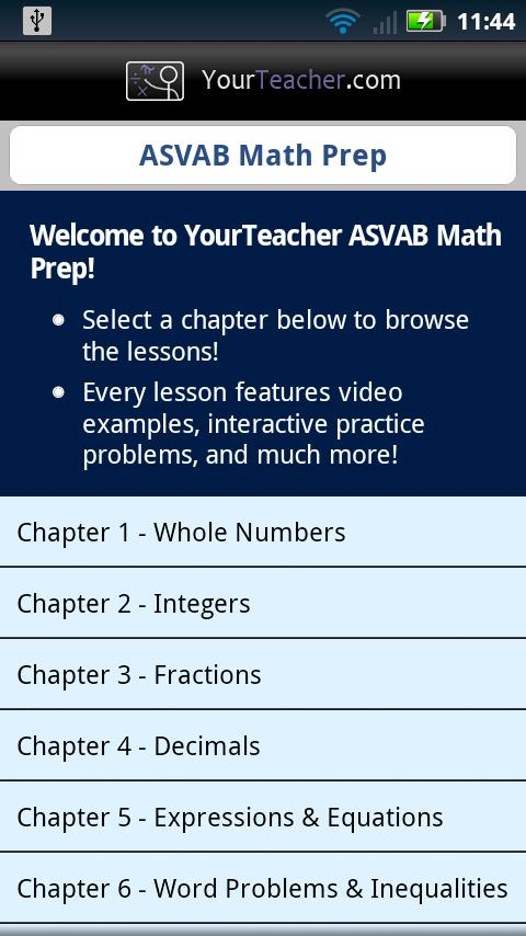 asvab math problems The armed services vocational aptitude battery (asvab) is a multiple choice test the asvab exam is administered by the united states military entrance processing.