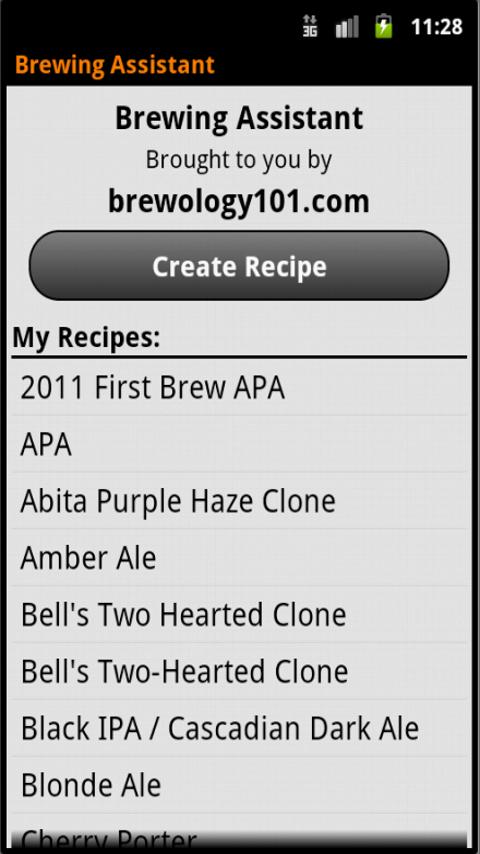 Brewing Assistant- screenshot