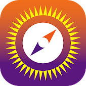 Sun Seeker - Sunrise Sunset Times Tracker, Compass Icon