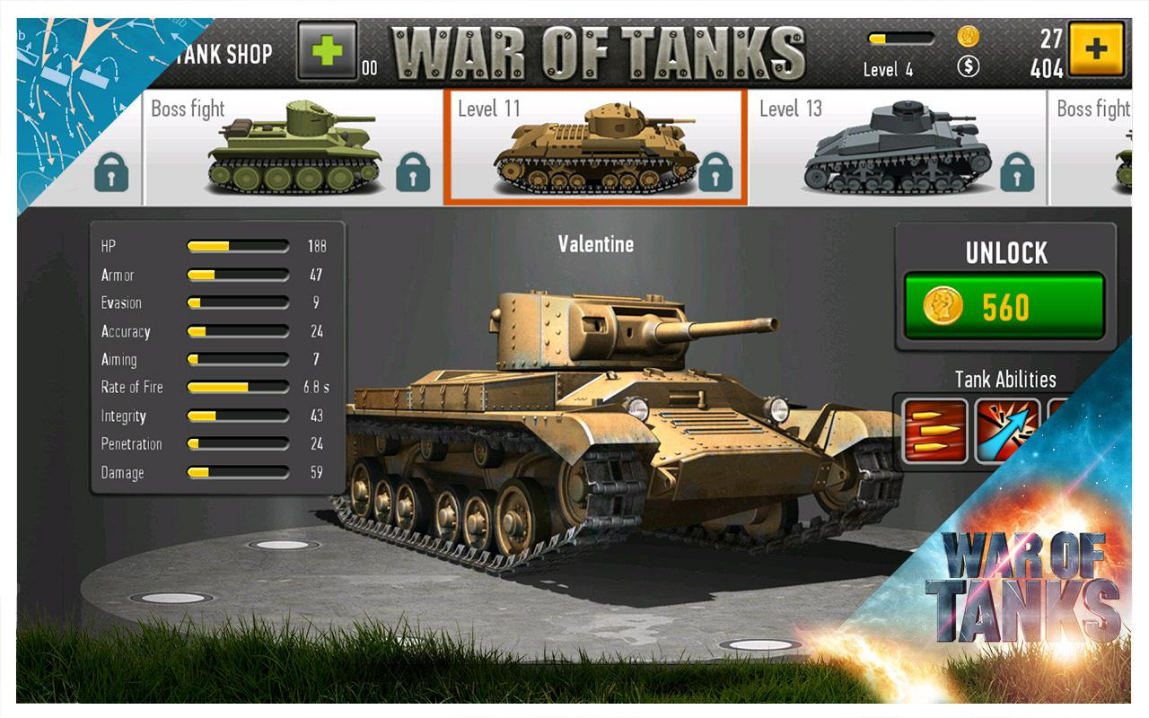 War of Tanks- screenshot