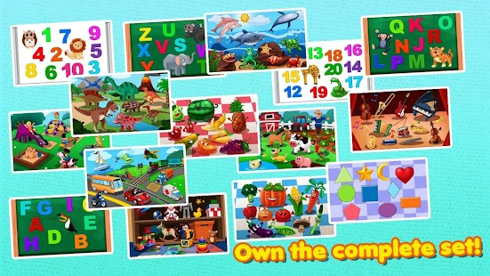 Awesome Shape Puzzles 123 HD - screenshot thumbnail