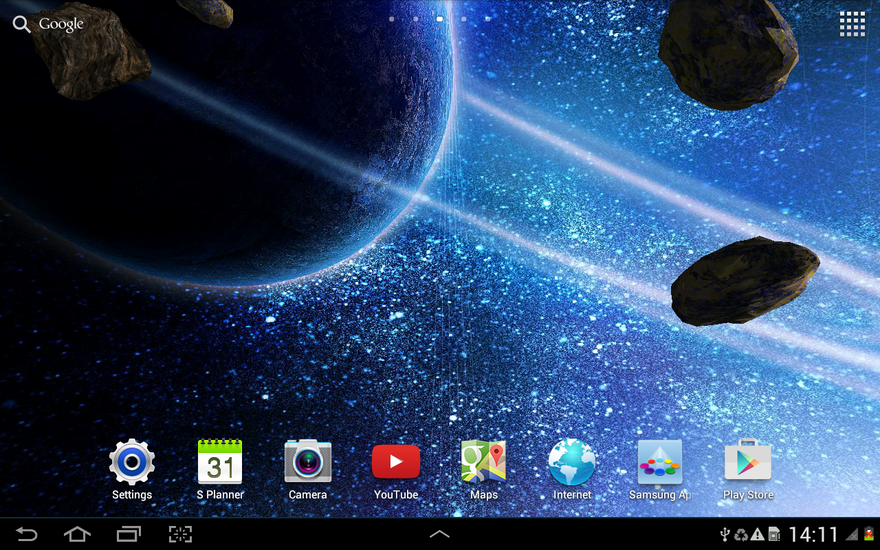 3d Space Desktop Wallpaper: Android Apps On Google Play