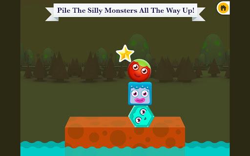 【免費教育App】Monster Tower Stacking-APP點子