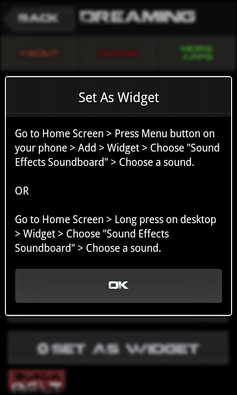 Sound Effects Soundboard - screenshot