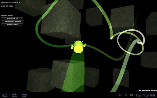GyroDroid screenshot