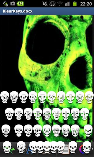 KlearKeys Skull Keyboard