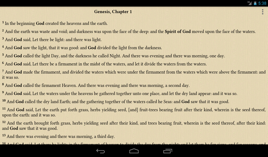 Bible ASV: Bible American - screenshot