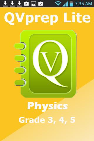 Science Grade 5 4 3 Physics