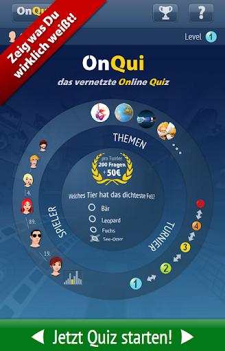 OnQui - das vernetzte Quiz
