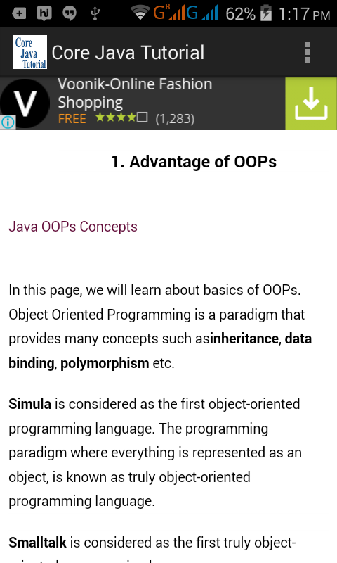 Core Java Programming Tutorial For Beginners Pdf Architectures Design
