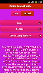 Erotic Horoscope - screenshot thumbnail