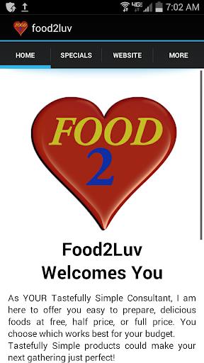 Food2LUV