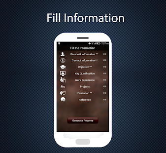professional resume maker   android apps on google play    professional resume maker  screenshot thumbnail