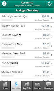 DCU Mobile Banking - screenshot thumbnail