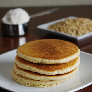 Oat Flour Pancakes (Old-Fashioned Style)