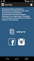 Screenshot of Hashtags Love - Get More Likes