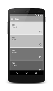 Material Design Color Palettes- screenshot thumbnail