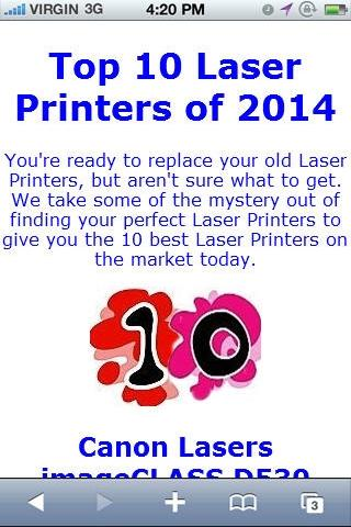 Laser Printer Reviews