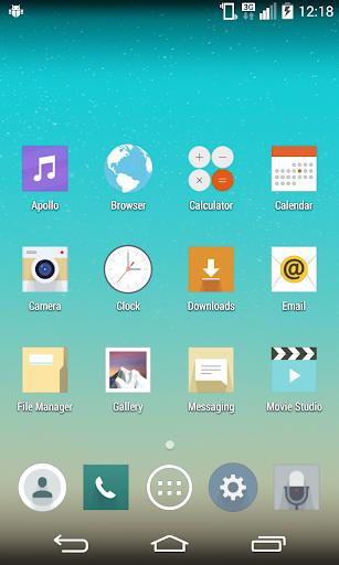 CM11 LG G3 theme