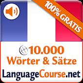 Lerne Französisch-Wörter