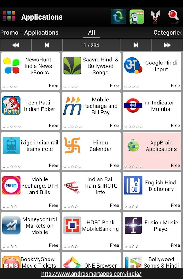 Android India - screenshot