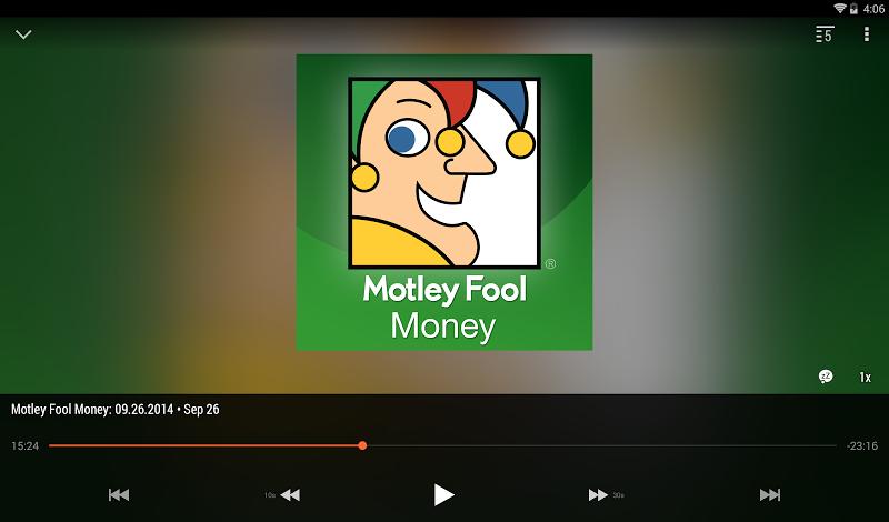 BeyondPod Podcast Manager Screenshot 9