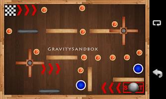Screenshot of Gravity Sandbox