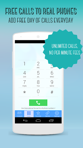 Call+ FREE Call to REAL phones