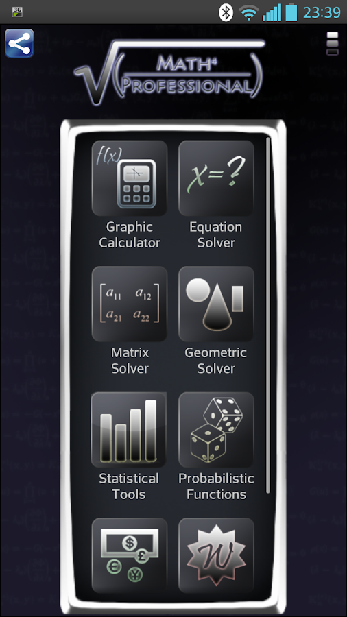 Math Professional (Free) - screenshot