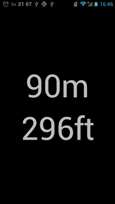 Network Altimeter (m / ft) - screenshot