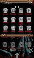 Screenshot of Zombie Nights GO Launcher EX