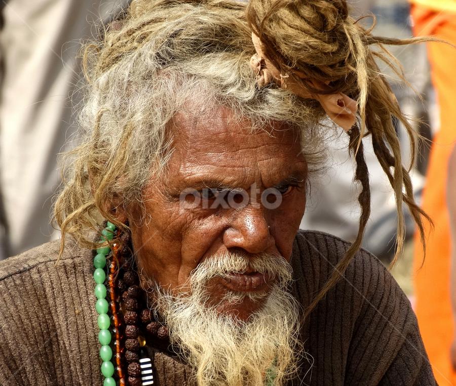 by Gautam Tarafder - People Portraits of Men (  )